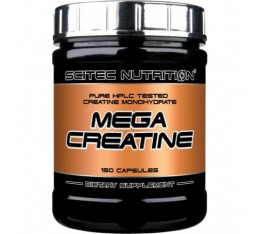 Scitec - Mega Creatine / 150 caps.