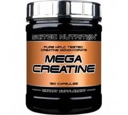 Scitec - Mega Creatine / 150 caps. Хранителни добавки, Креатинови продукти, Креатин Монохидрат