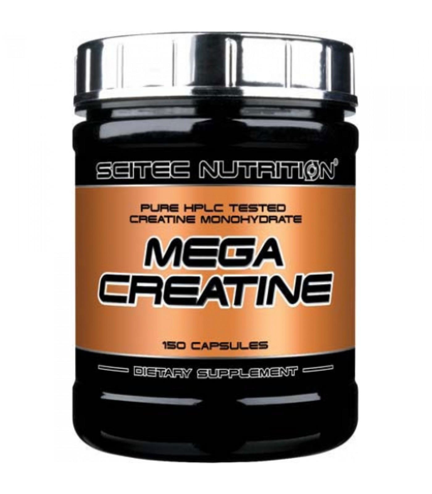 Scitec - Mega Creatine / 150 caps.