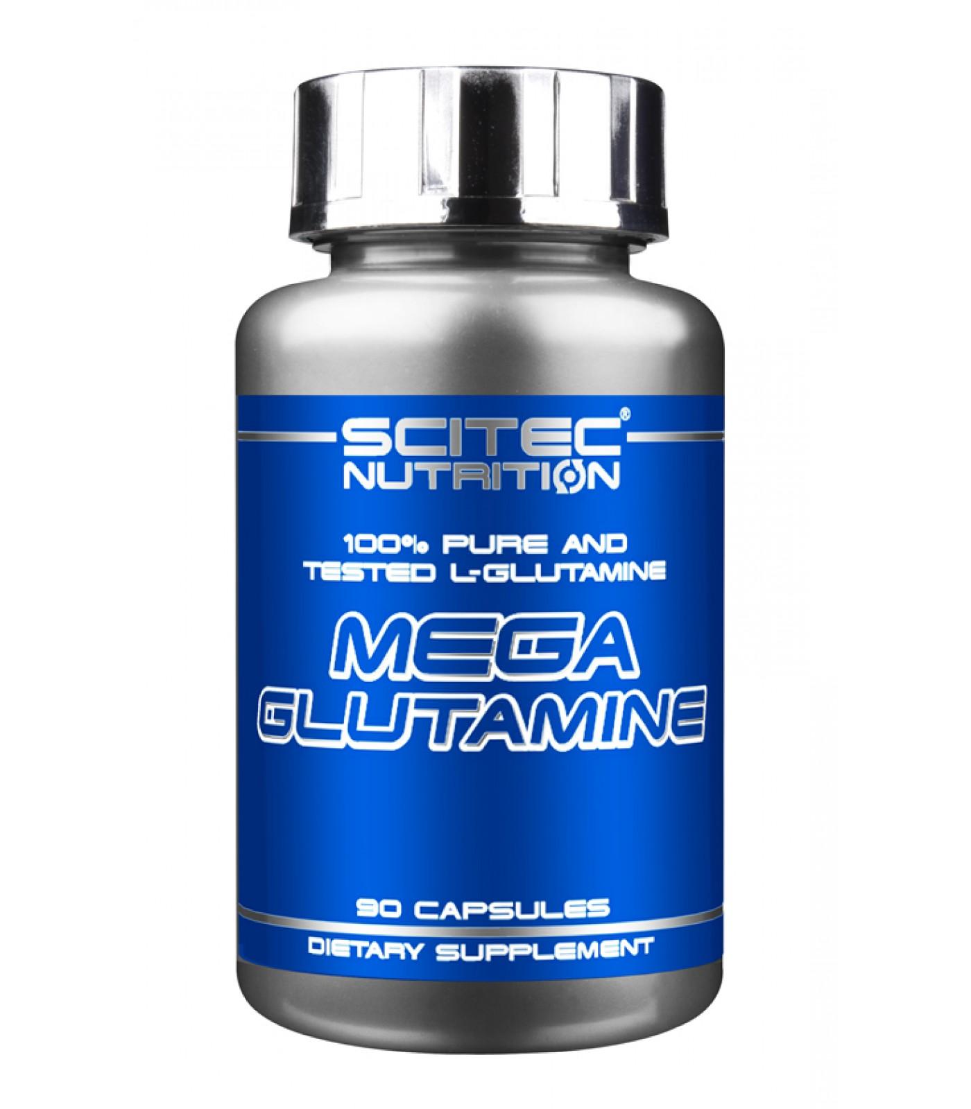 Scitec - Mega Glutamine / 90 caps