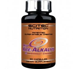 Scitec - Mega Kre-Alkalyn / 80 caps. Хранителни добавки, Креатинови продукти, Кре-Алкалин