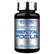 Scitec - Mental Focus / 90 caps