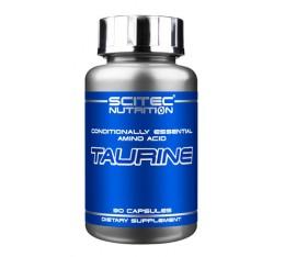 Scitec - Taurine / 90 caps. Хранителни добавки, Аминокиселини, Таурин
