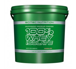 Scitec - 100% Whey Isolate / 4000 gr.​