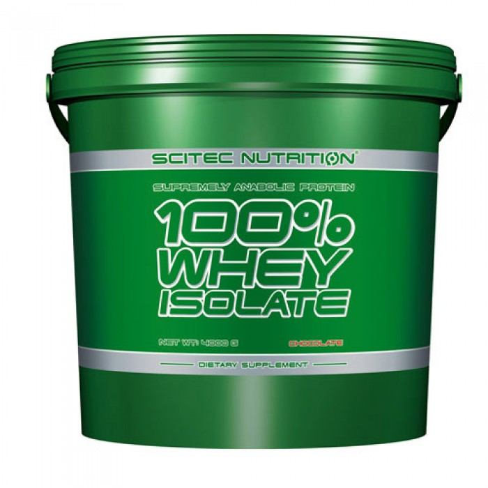 Scitec - 100% Whey Isolate / 4000 gr.