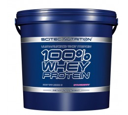 Scitec - 100% Whey Protein / 5000 gr. Хранителни добавки, Протеини, Суроватъчен протеин