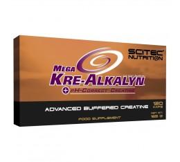 Scitec - Mega Kre-Alkalyn / 120caps. Хранителни добавки, Креатинови продукти, Кре-Алкалин