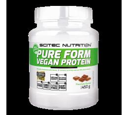 Scitec - Pure Form Vegan Protein 450gr