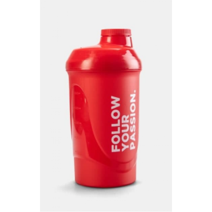 Prozis Shaker Red - Follow Your Passion / 600ml.