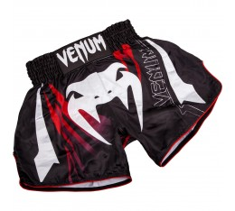МУАЙ ТАЙ ШОРТИ - Venum Sharp 3.0 Muay Thai Shorts - Black/Red​ Къси гащета