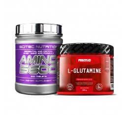 Стак възстановяване - Комплексни амино + глутамин Сила и възстановяване, СТАКОВЕ