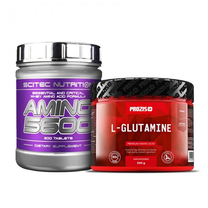 Стак възстановяване - Комплексни амино + глутамин