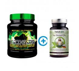 Стак възстановяване - глутамин + билков комплекс Аминокиселини, Сила и възстановяване, Глутамин, СТАКОВЕ