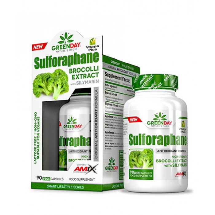 AMIX Greenday Sulforaphane / 90 Vcaps.​