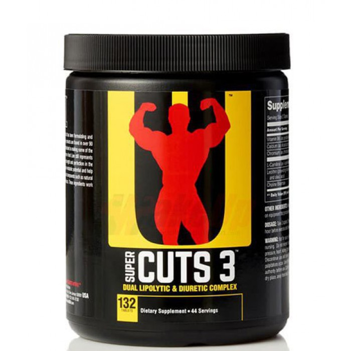 Universal Nutrition - Super Cuts 3 / 130 tab​
