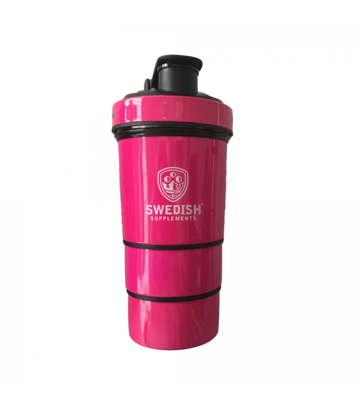 SWEDISH Supplements - Metal Shaker / SWEDISH Smart Shaker with Ice Puck - Pink