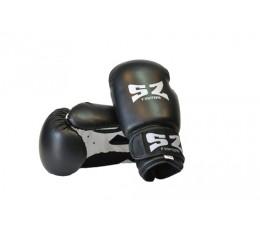SZ Fighters - Боксови ръкавици (Изкуствена кожа) - черен цвят Бойни спортове и MMA, Боксови ръкавици