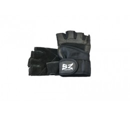 SZ Fighters - Фитнес ръкавици с накитник - черни Фитнес аксесоари, Мъжки ръкавици за фитнес