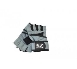 SZ Fighters - Фитнес ръкавици с накитник - Сив цвят Фитнес аксесоари, Мъжки ръкавици за фитнес