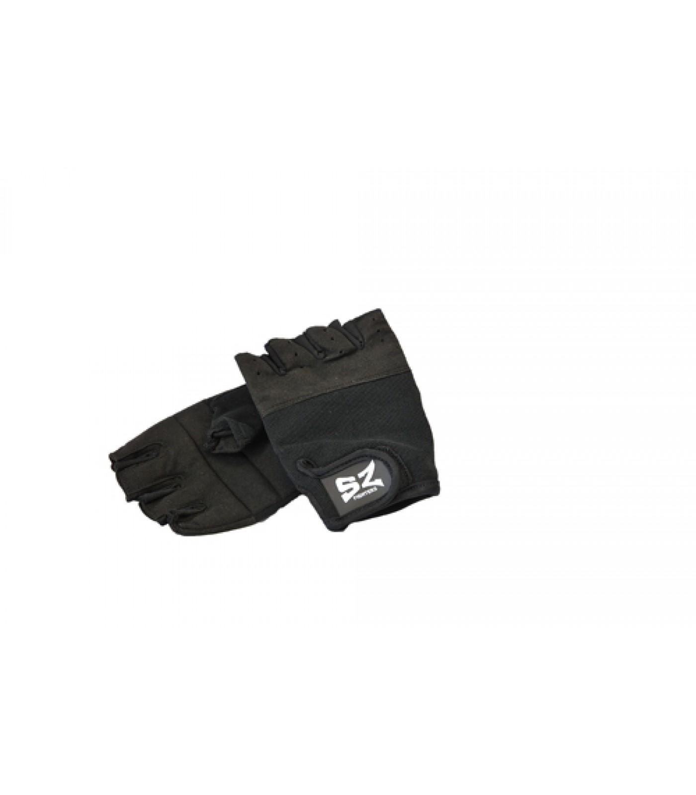 SZ Fighters - Фитнес ръкавици - черни