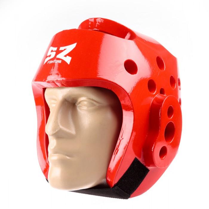 SZ Fighters - Каска за таекуондо - Червена