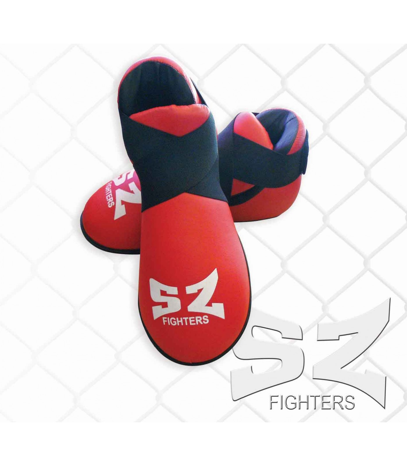 SZ Fighters - Обувки за карате - червени