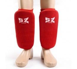 SZ Fighters - Протектори за крака - къс ластик Бойни спортове и MMA, Протектори за крака