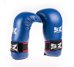 SZ Fighters - Ръкавици за Таекуондо - Сини Бойни спортове и MMA, Карате ръкавици