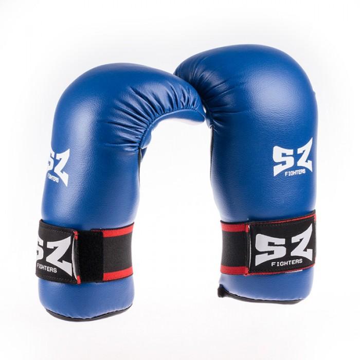 SZ Fighters - Ръкавици за Таекуондо - Сини