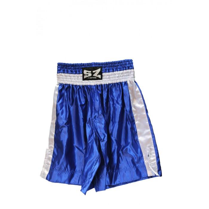 SZ Fighters - Шорти за Бокс - син цвят