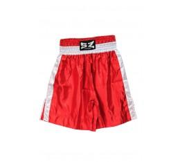 SZ Fighters - Шорти за Бокс / червен цвят Спортни облекла и Дрехи, Къси гащета