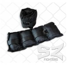 SZ Fighters - Тежести за крака и ръце 2 кг. Бойни спортове и MMA, Фитнес аксесоари, Тежести, лостове и др.
