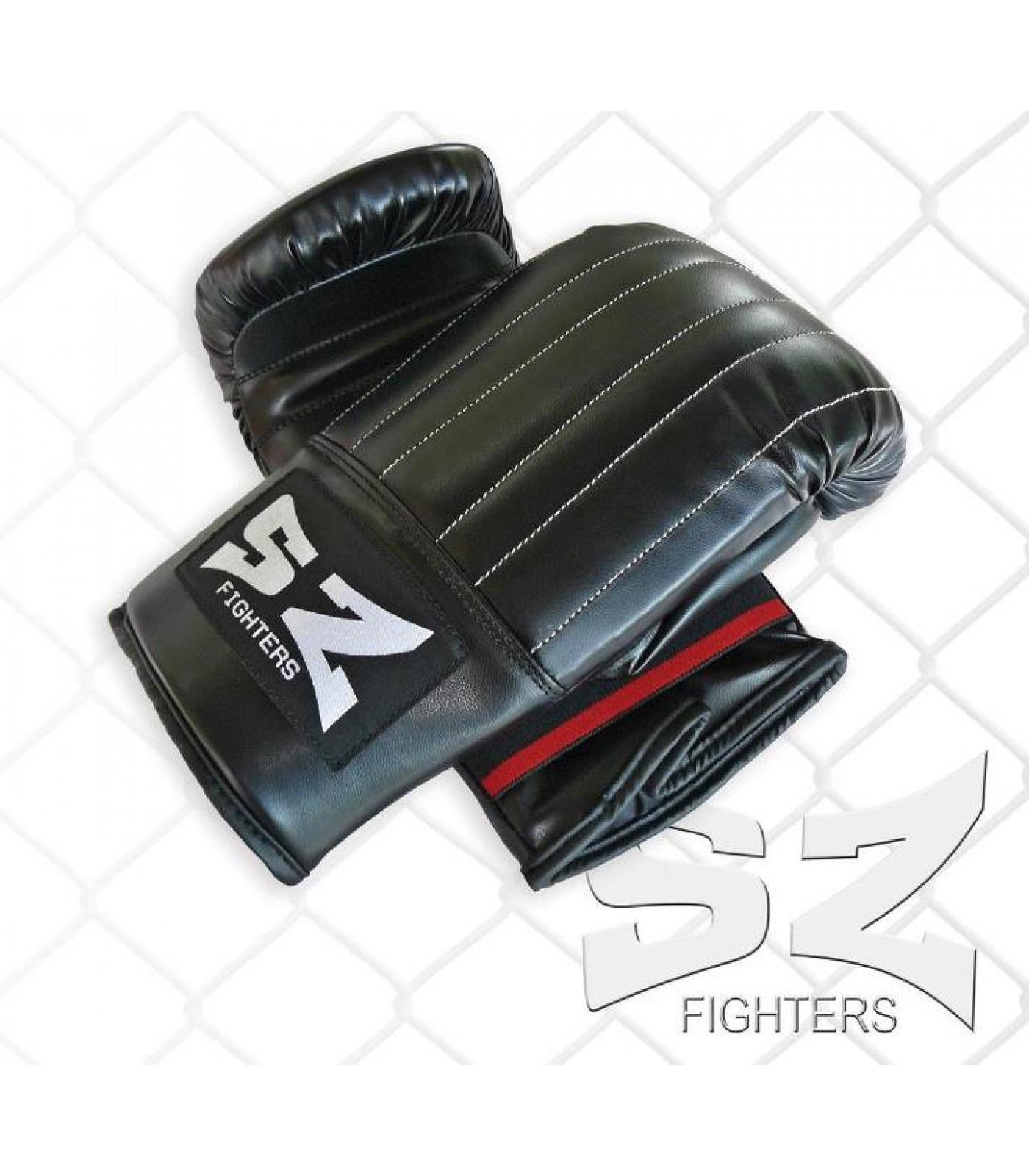 SZ Fighters - Уредни ръкавици (естествена кожа)