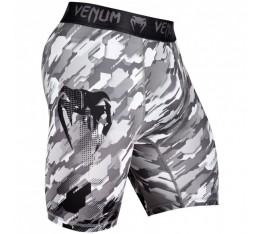 Тренировъчен Клин с Къси Крачоли - Venum Tecmo Vale Tudo Shorts - Black / Grey Клинове
