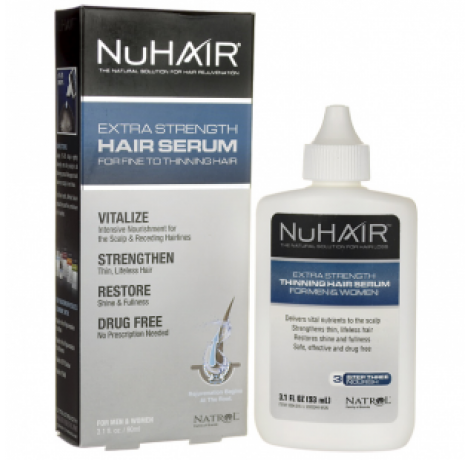 Natrol - NuHair Hair Serum for Thinning Hair / 90ml.