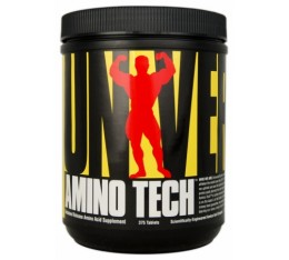 Universal Nutrition - Amino Tech / 375 tabs.​ Хранителни добавки, Аминокиселини, Комплексни аминокиселини