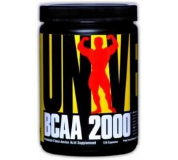 Universal Nutrition - BCAA 2000 / 120 caps Хранителни добавки, Аминокиселини, Разклонена верига (BCAA)