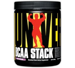 Universal Nutrition - BCAA Stack / 250 gr Хранителни добавки, Аминокиселини, Разклонена верига (BCAA)