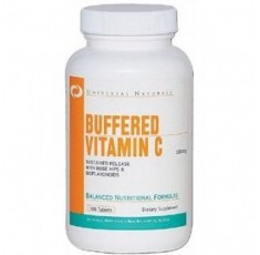 Universal Nutrition - Buffered Vitamin C / 100 tab