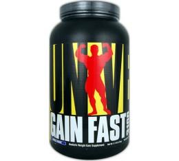 Universal Nutrition - Gain Fast 3100 / 1157 gr Хранителни добавки, Гейнъри за покачване на тегло, Гейнъри