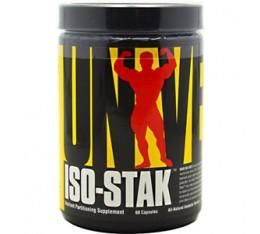 Universal Nutrition - Iso-Stak / 60 caps Хранителни добавки, Стимулатори за мъже