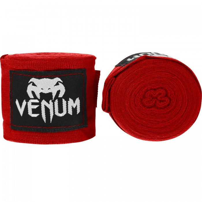 Бинтове - VENUM Kontact Boxing Handwraps - 2,5 m / Червени