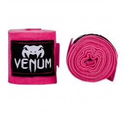 Бинтове - VENUM - Kontact Boxing Handwraps / 2,5 m / Neo Pink Бинтове