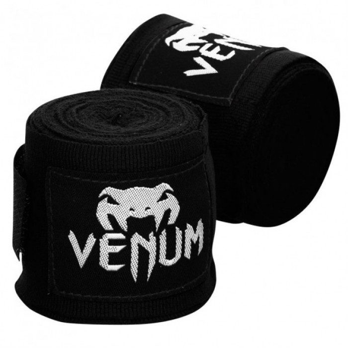 Бинтове - VENUM Kontact Boxing Handwraps - 4m / Black