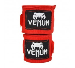 Бинтове - VENUM Kontact Boxing Handwraps - 4m / Red