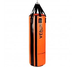 Боксов Чувал - VENUM HURRICANE PUNCHING BAG - 130 CM FILLED / BLACK-ORANGE​ Боксови чували