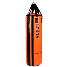 Боксов Чувал - VENUM HURRICANE PUNCHING BAG - 130 CM FILLED / BLACK-ORANGE​