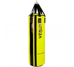 Боксов Чувал - VENUM HURRICANE PUNCHING BAG - 130 CM FILLED / BLACK - YELLOW​ Боксови чували