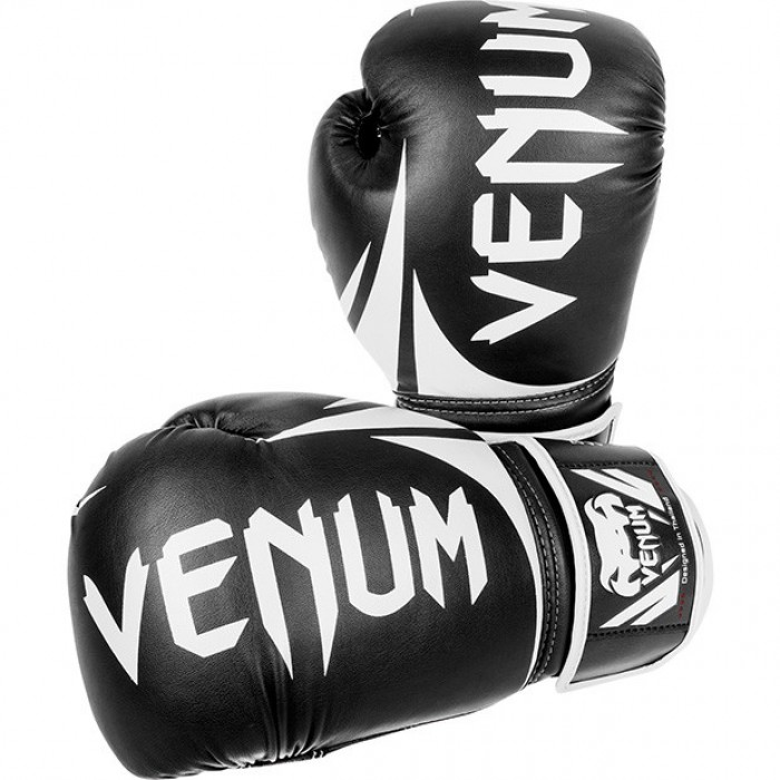 Боксови ръкавици - VENUM CHALLENGER 2.0 BOXING GLOVES / BLACK​