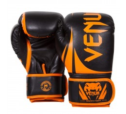 Боксови ръкавици - Venum Challenger 2.0 Boxing Gloves - Neo Orange/Black Боксови ръкавици